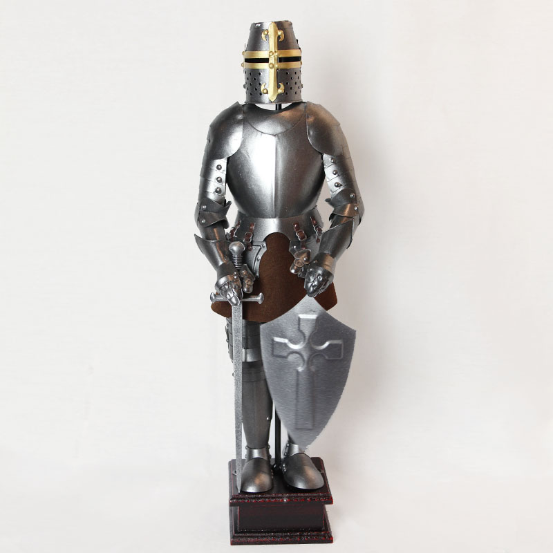 Lowe process/medieval armor model decoration/european craft ornaments/decorations bar restaurant