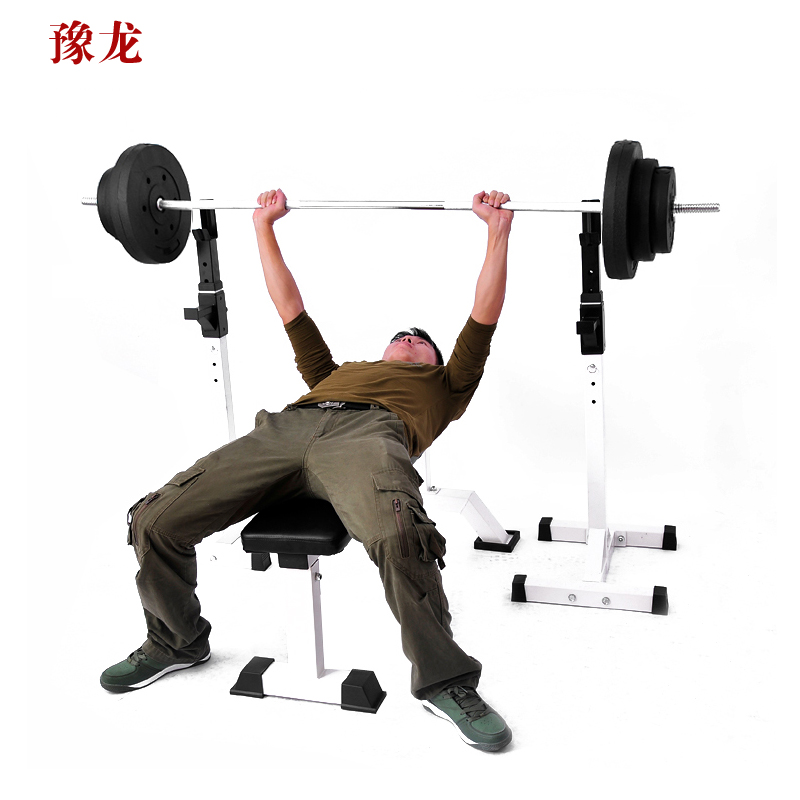 Yu long home split squat rack weightlifting bed bench press rack barbell bench press rack bed bench dumbbell bench