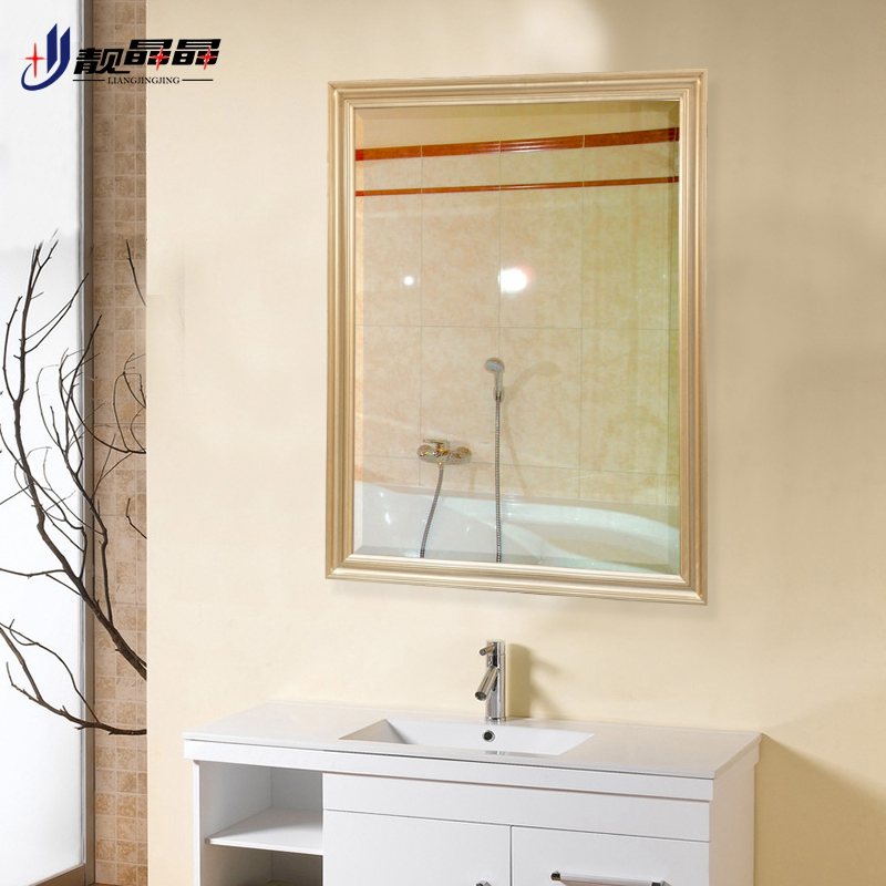 Liang jingjing bathroom mirror bathroom vanity mirror wall mirror bathroom mirror bathroom vanity mirror dressing table comb wash basin