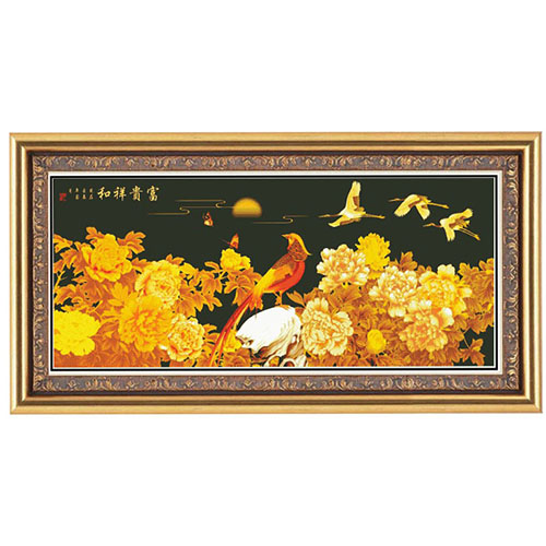 Dmc cross stitch genuine monopoly substantial new living room bedroom dmc cross stitch kit chinese wind wealth and good fortune