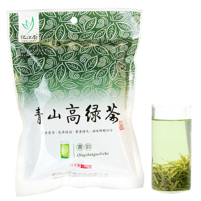 [Lynx supermarket] clearance yi jiangnan tea section 125g high mountains green tea roasted green tea bags