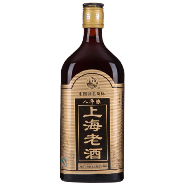 [Supermarket] lynx baita brand black mark eight years chen wine wine wine shanghai 500 ml/bottle classic tradition
