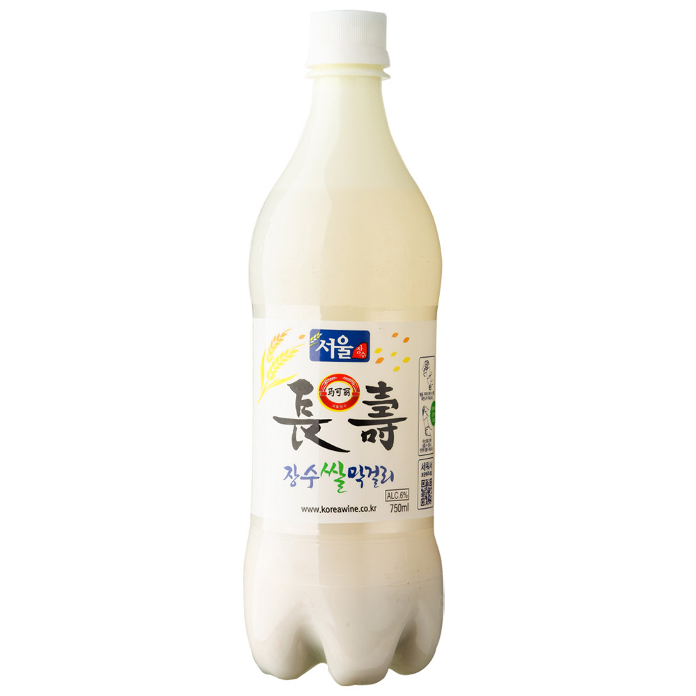 [Lynx supermarket] south korean imports of lotte seoul longevity mark liesl rice wine 6 degrees 750 ml/bottle