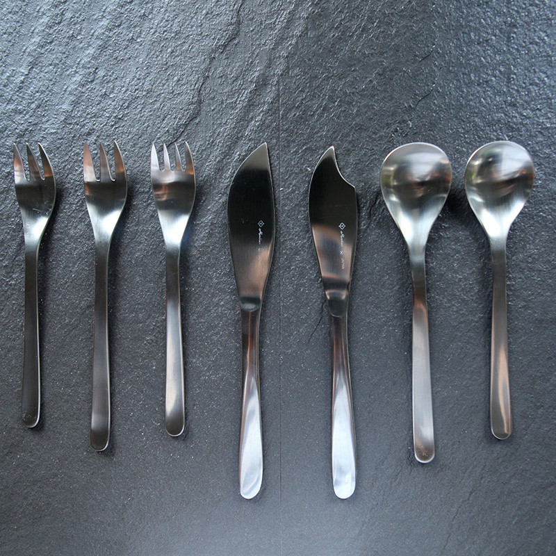 18-8/304 imported from japan yoo chong li stainless steel lunch special western cutlery spoons and forks