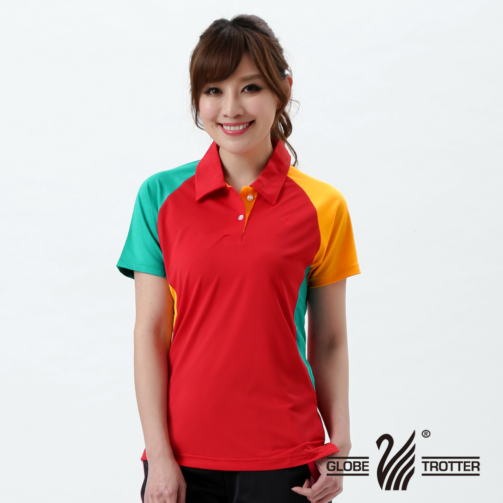 [Tour all over the world] mit s_1 polo shirt female casual anti uv wicking function 18