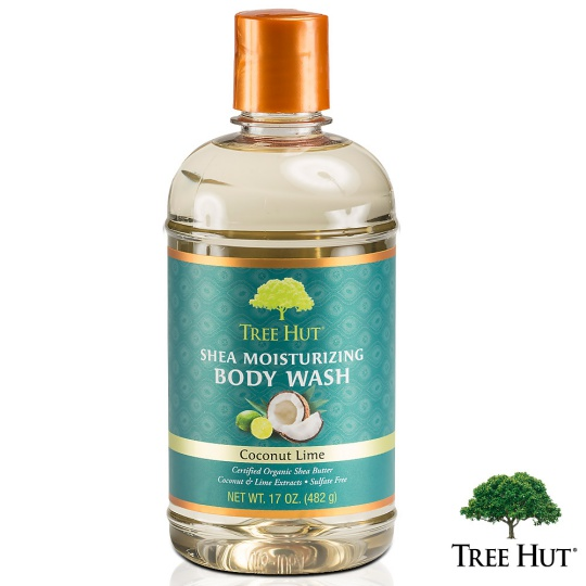 Tree hut tree hut net tender skin body wash-werritty coconut fragrance