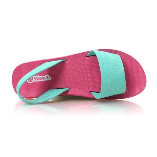 Wave3 pink light green yoga mat female slippers sandals-made in taiwan ♪ 15200713 official website direct mail import