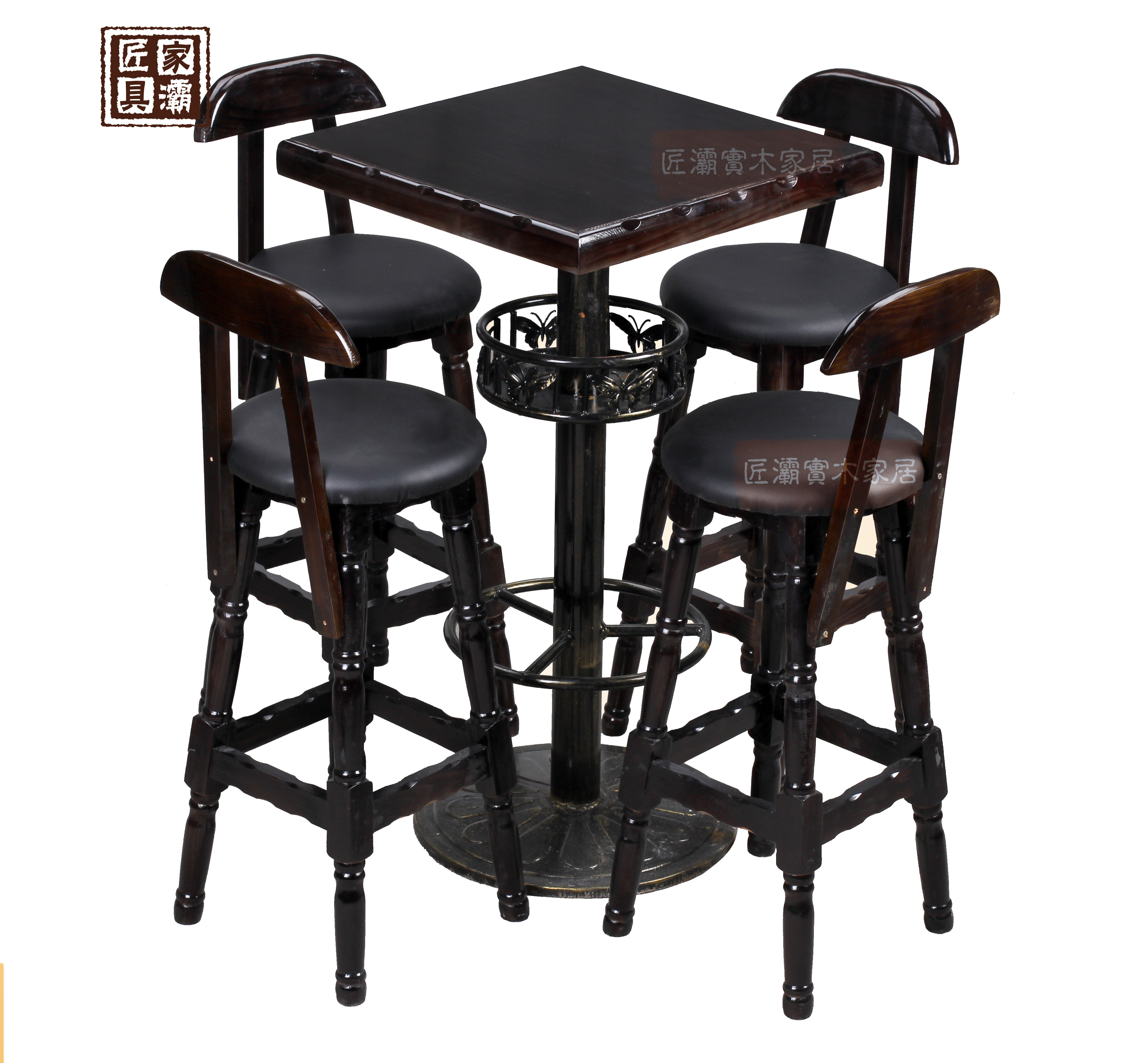 Wood bar tables and chairs wood preservative outdoor patio tables and chairs/bar restaurant tables and chairs/solid wood table and chairs