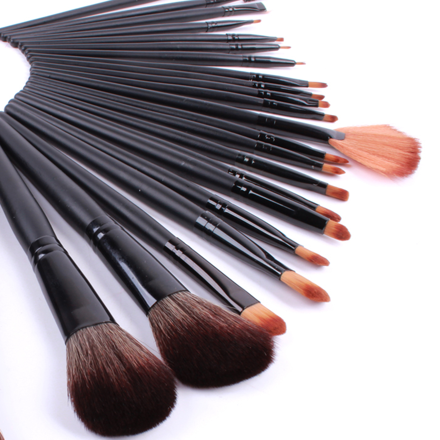 Lexni 24 special fiber hair makeup brush set makeup tools makeup brush sets studio star