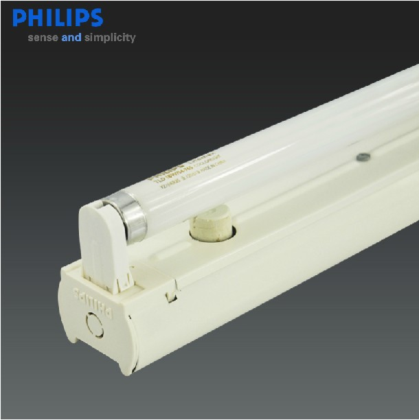 Genuine philips t8 fluorescent light tube full set of 18 w 30 w 36 w fluorescent lamp bracket lamp holder fluorescent lamp holder