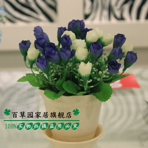 Rose artificial flowers suit the living room table decoration artificial flowers artificial flowers floral floral floral furnishings plastic flowers