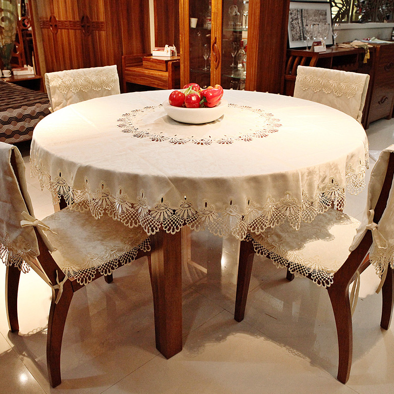 Get Quotations · Pastoral Fabric Table Cloth Tablecloth Round Table  Tablecloth Continental Modern Coffee Table Cloth Table Coverings Cushion