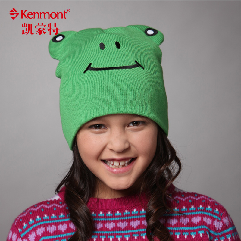 Kenmont winter hat children hat boys and girls fall and winter wool cap cute hat knitted hat hedging 5934