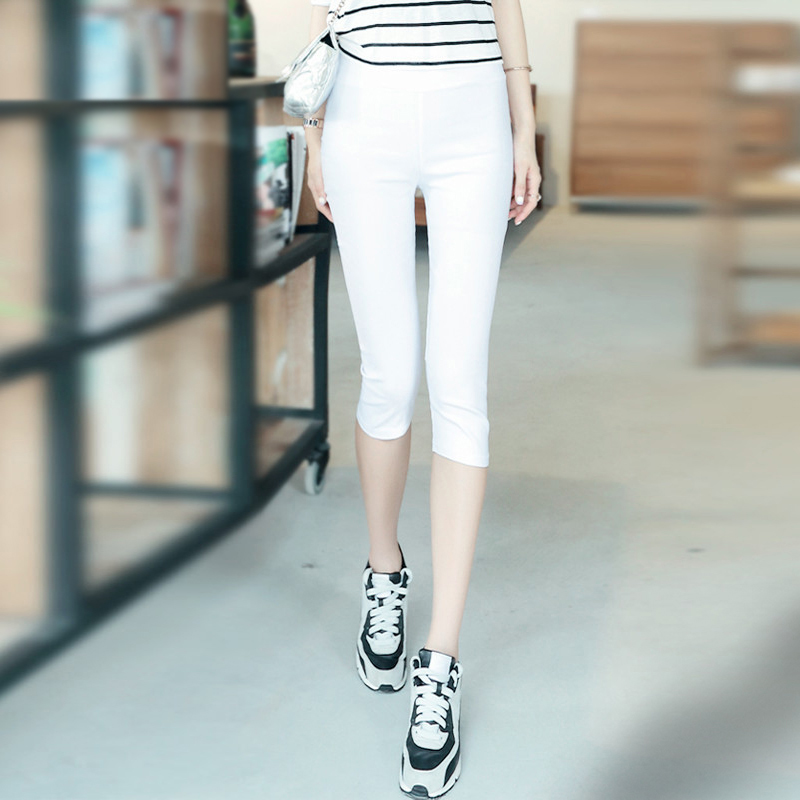 2015 new candy colored pants casual pants pant summer korean version of slim was thin shorts shorts shorts female candy