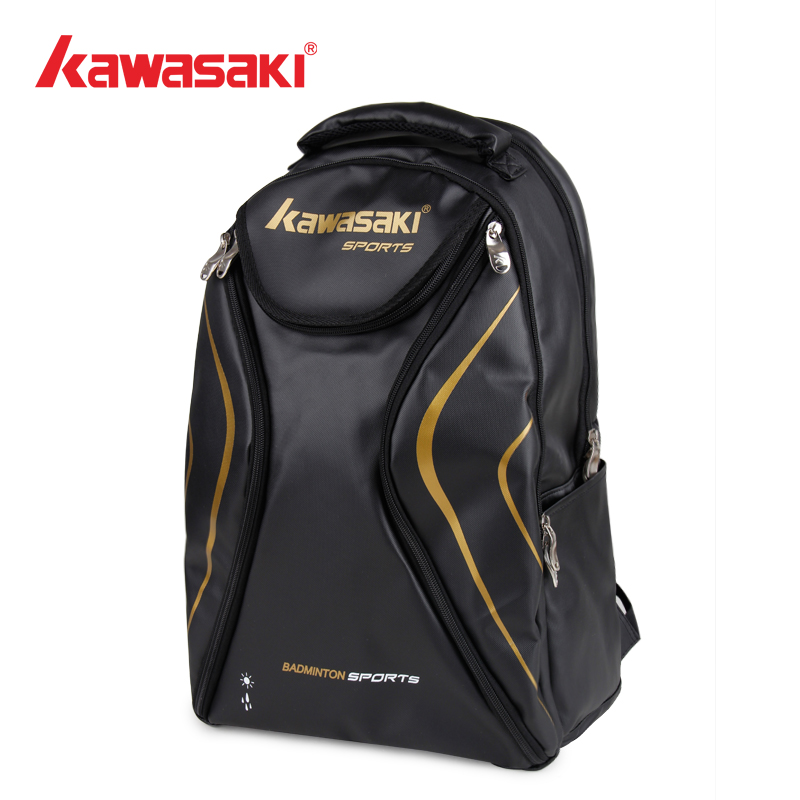 2015 new genuine kawasaki badminton racket bag man bag 6 installed shoulder bag backpack couple models cheap handbags