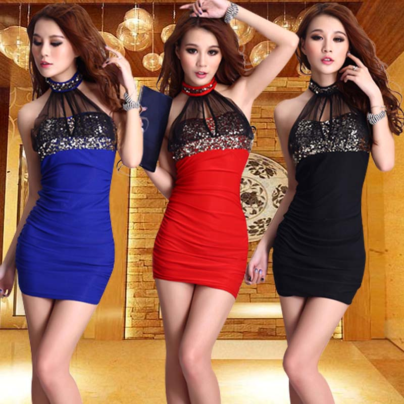 2015 new spring and summer in europe and america nightclub queen sexy lace slim package hip dress sexy women dress
