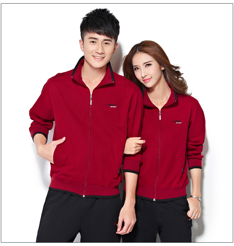 2016 autumn and winter large size men and women couple track suit thick sweater men's casual sportswear jogging suits buy