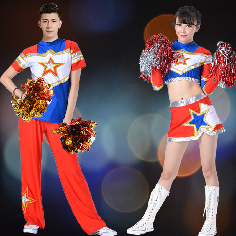 2016 autumn new cheerleading apparel cheerleading apparel cheerleading performance clothing for children clothing adult male and female models