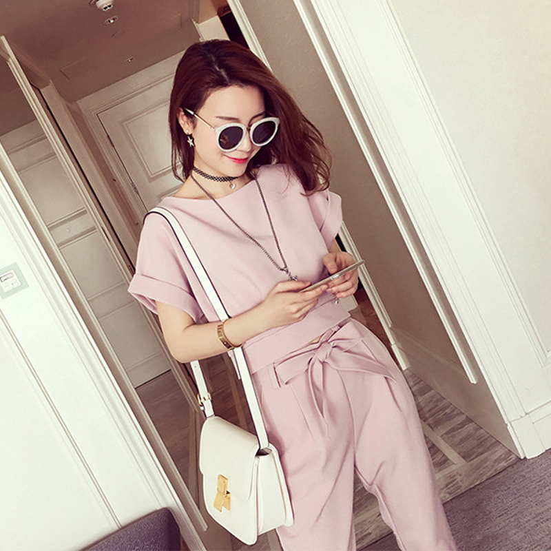 2016 hitz women's fashion suit influx of women summer early autumn ladies small fragrant wind piece autumn
