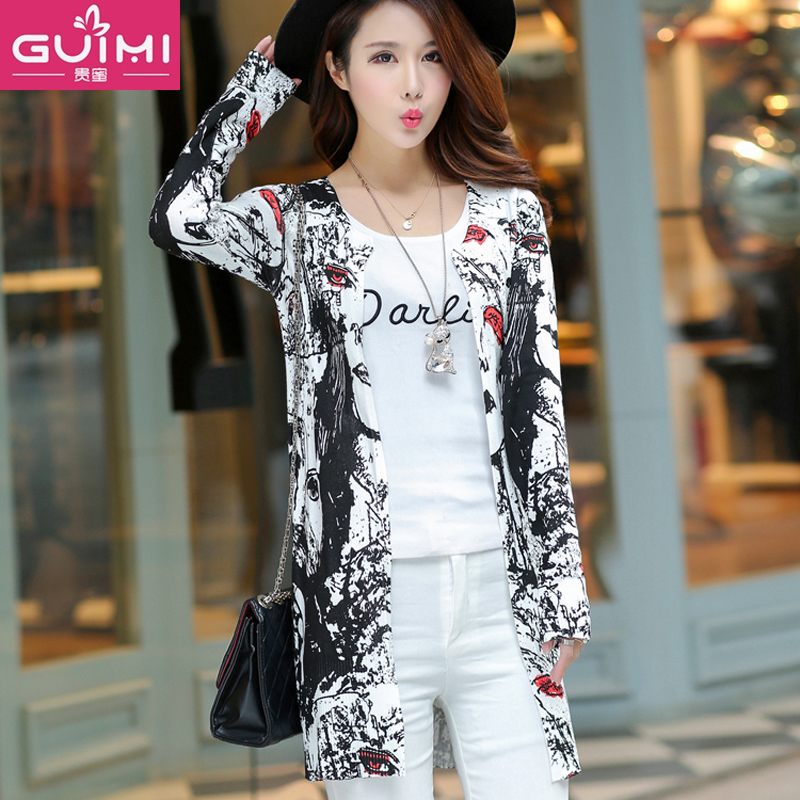 cf71a247a9 Get Quotations · 2016 loose big yards long sleeve sun protection clothing  female summer long section of uv beach