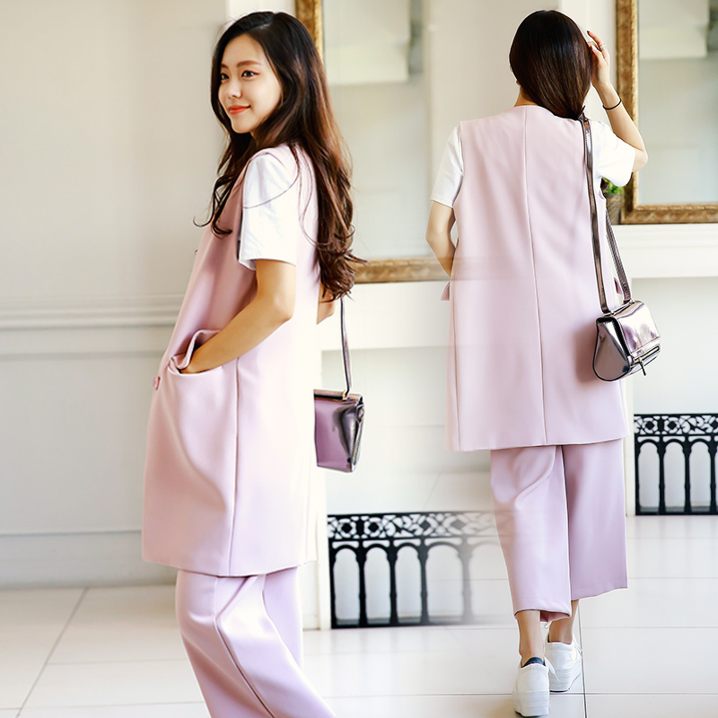 2016 new fall fashion leisure suit autumn early autumn fashion autumn early autumn new korean version of the influx of women