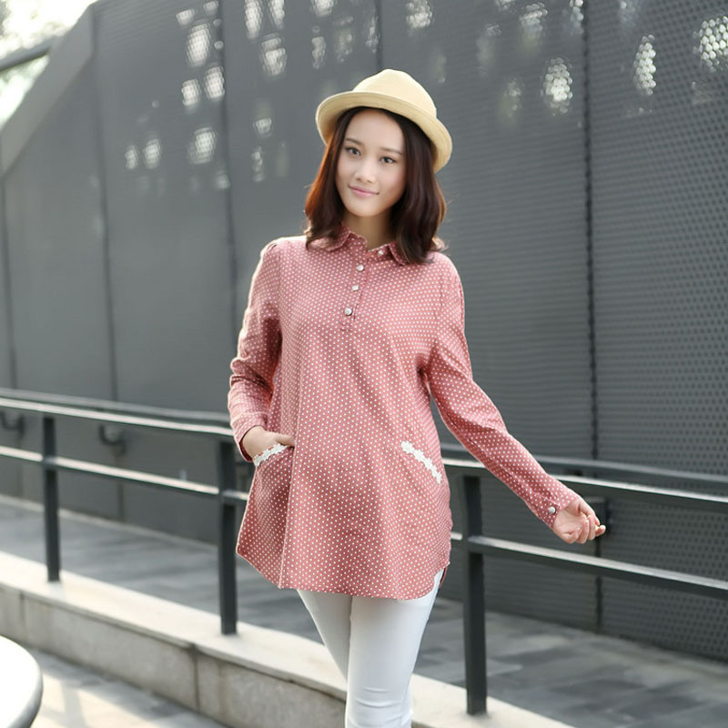 2016 new maternity autumn fashion maternity pregnant women skirt pregnant women pregnant autumn coat was thin long sleeve shirt for pregnant women