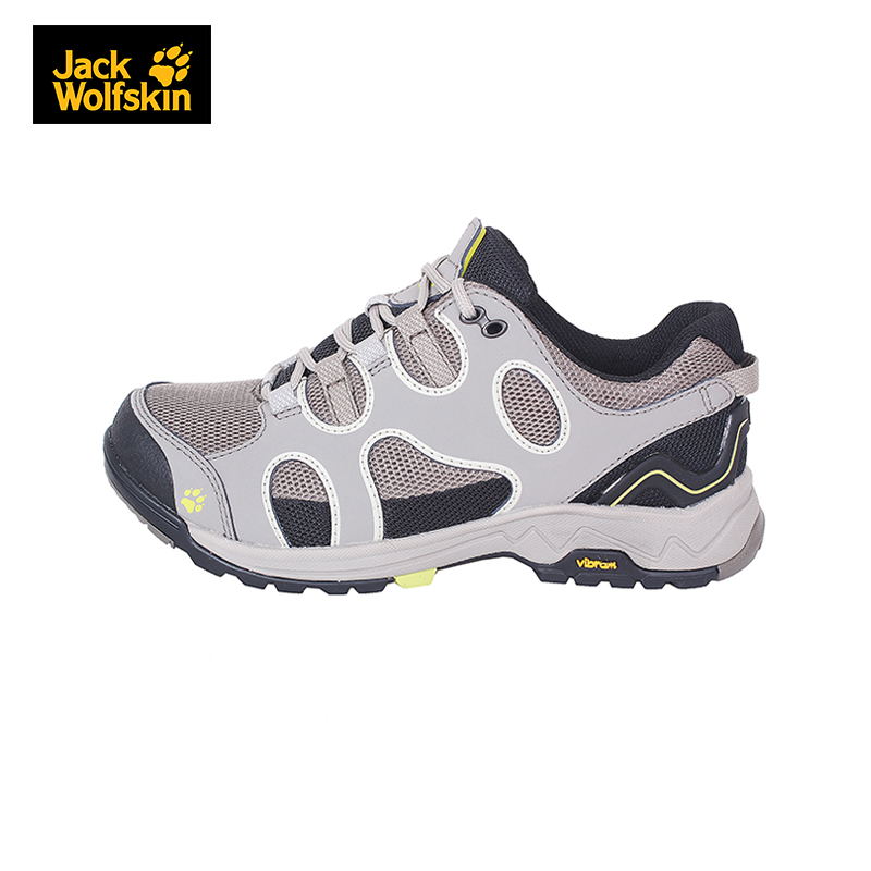 2016 new spring and summer jack wolfskin/dewclaws ms. outdoor waterproof breathable hiking shoes 4013981
