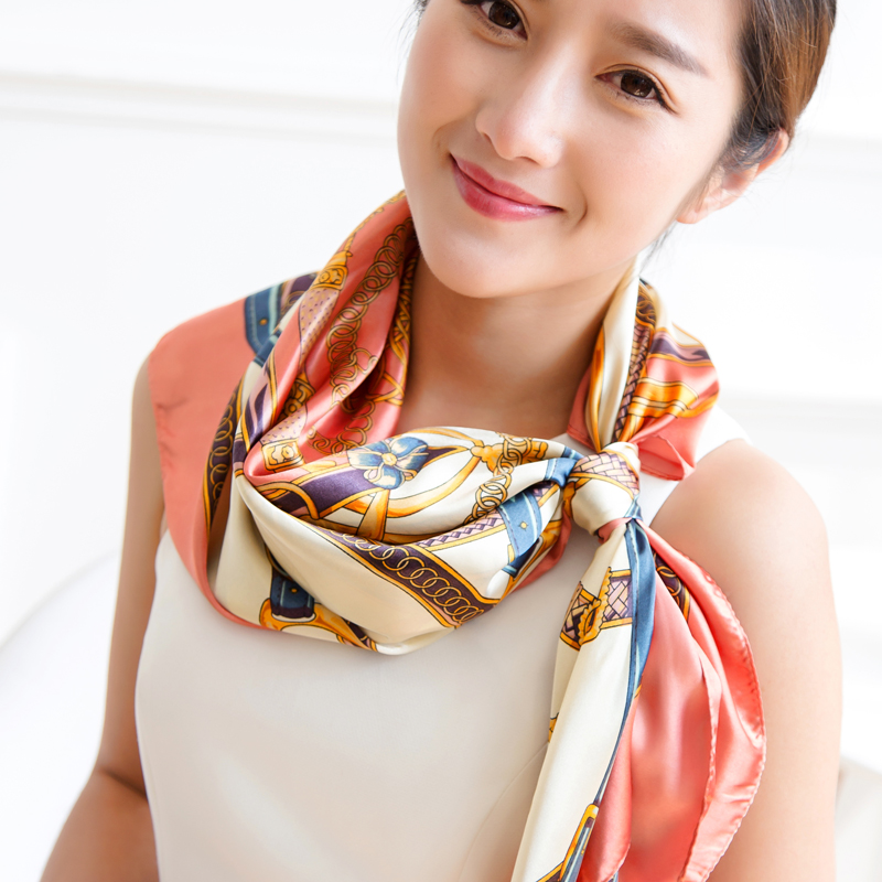 2016 new tide female models retro print bandana scarf scarf scarf scarf female korean version of casual decor