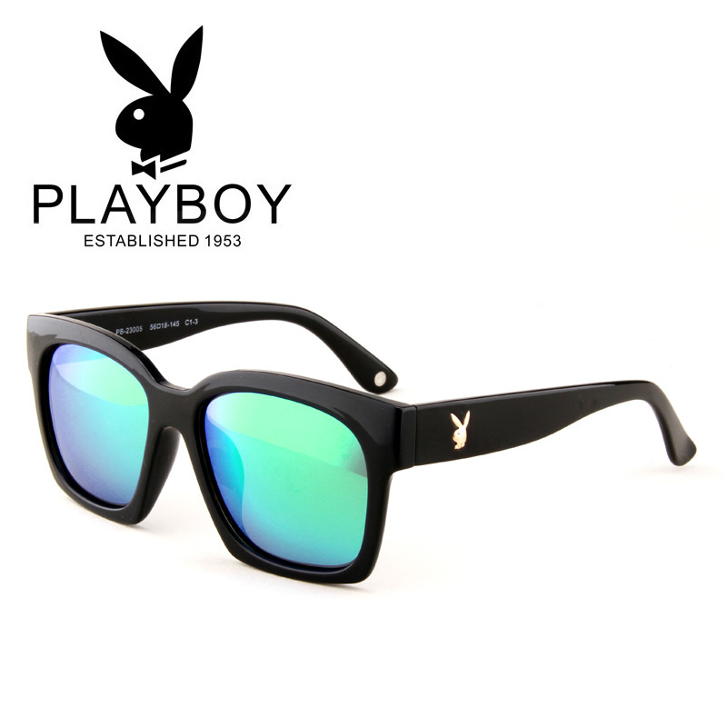 9fe50d2b8c Get Quotations · 2016 playboy men s retro sunglasses polarized sunglasses  men sunglasses driving car oversized frame sunglasses influx of