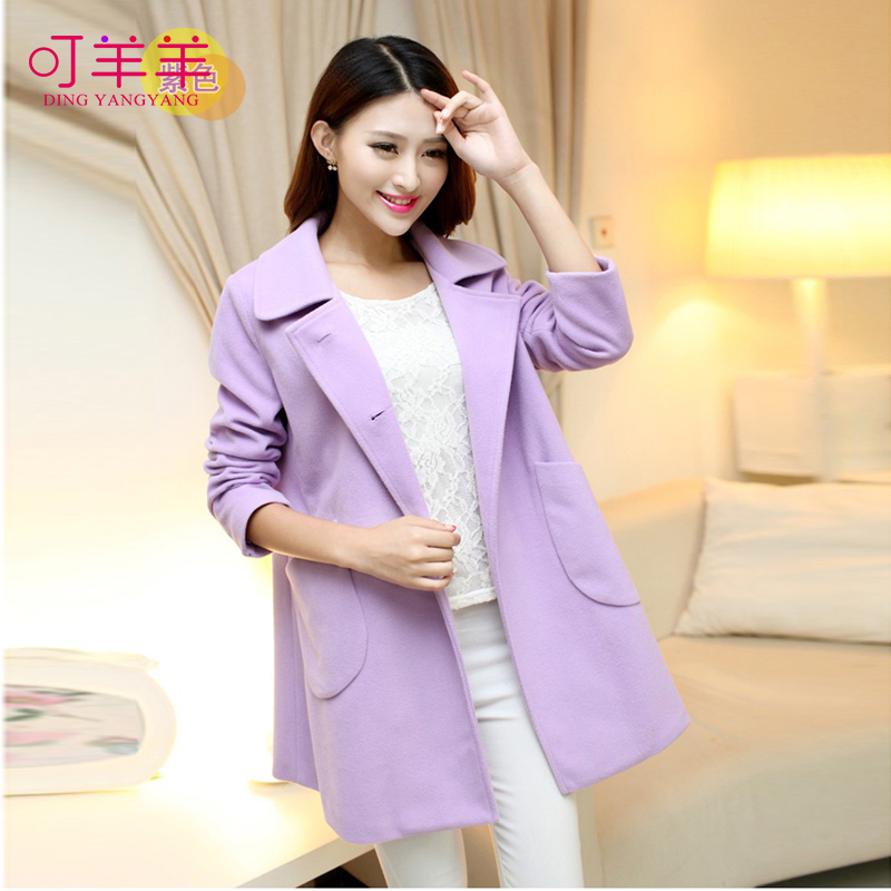 2016 spring and autumn maternity fashion autumn coat new woolen coat pregnant women pregnant women coat korean windbreaker