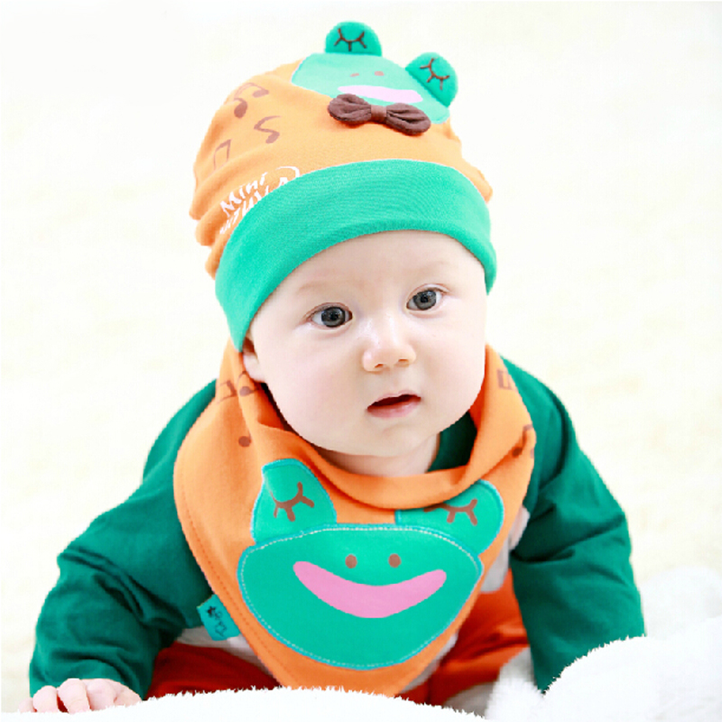 bc225916ff0 Get Quotations · 2016 spring korean men and women baby cap baby hat  children set of head cap baby