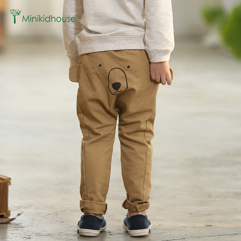 2016 spring new boy harem pants casual pants boys trousers baby pants big pp pants spring and autumn cotton baby pants baby trousers