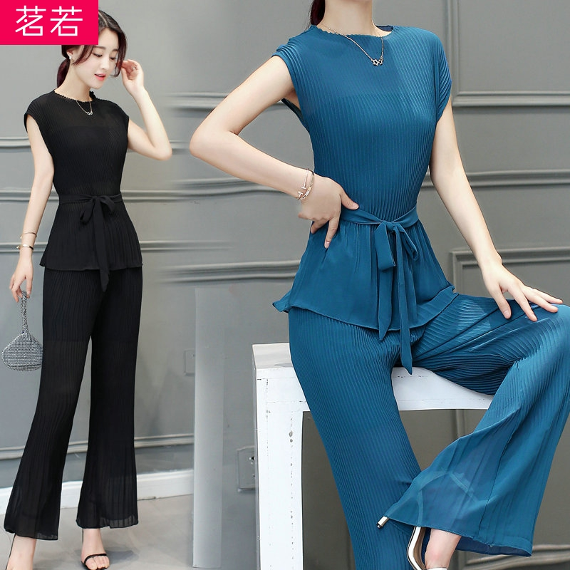 2016 summer new ladies temperament was thin pantyhose piece suit female summer influx of ladies fashion snow spinning