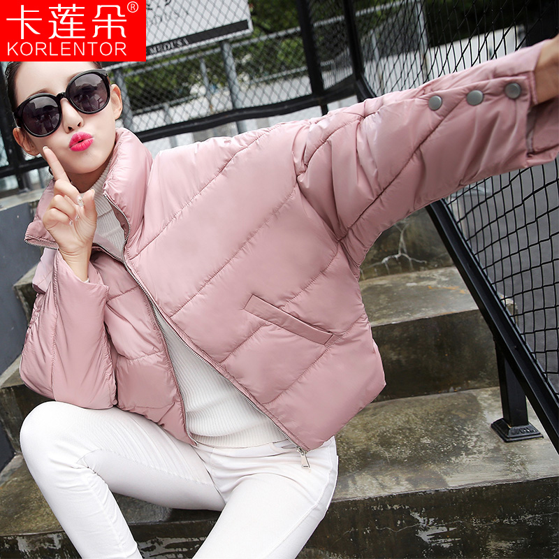 2016 winter new korean version of the thick loose cotton padded coat female short paragraph was thin thick collar korean cotton clothes bread