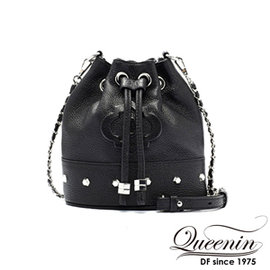 Criticalvalue queenin korea-korean version of the modern color bucket bag leather models d & f taiwan official website direct mail import