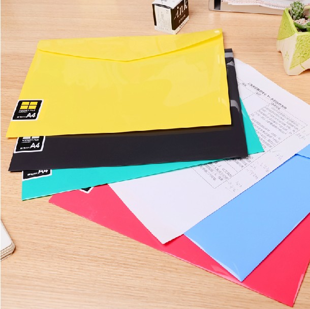 29.9 yuan shipping dawn stationery office a4 paper bags big bag kit color velcro snaps bright face