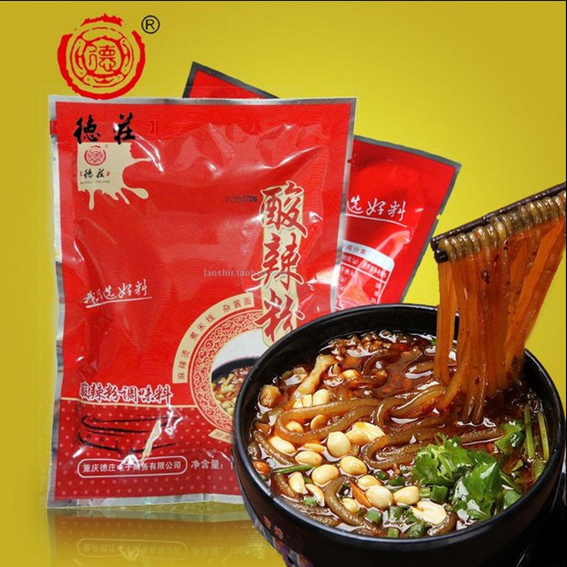3 bags free shipping tokusho chongqing hot and sour powder seasoning sour powder seasoning 150g healthy and delicious