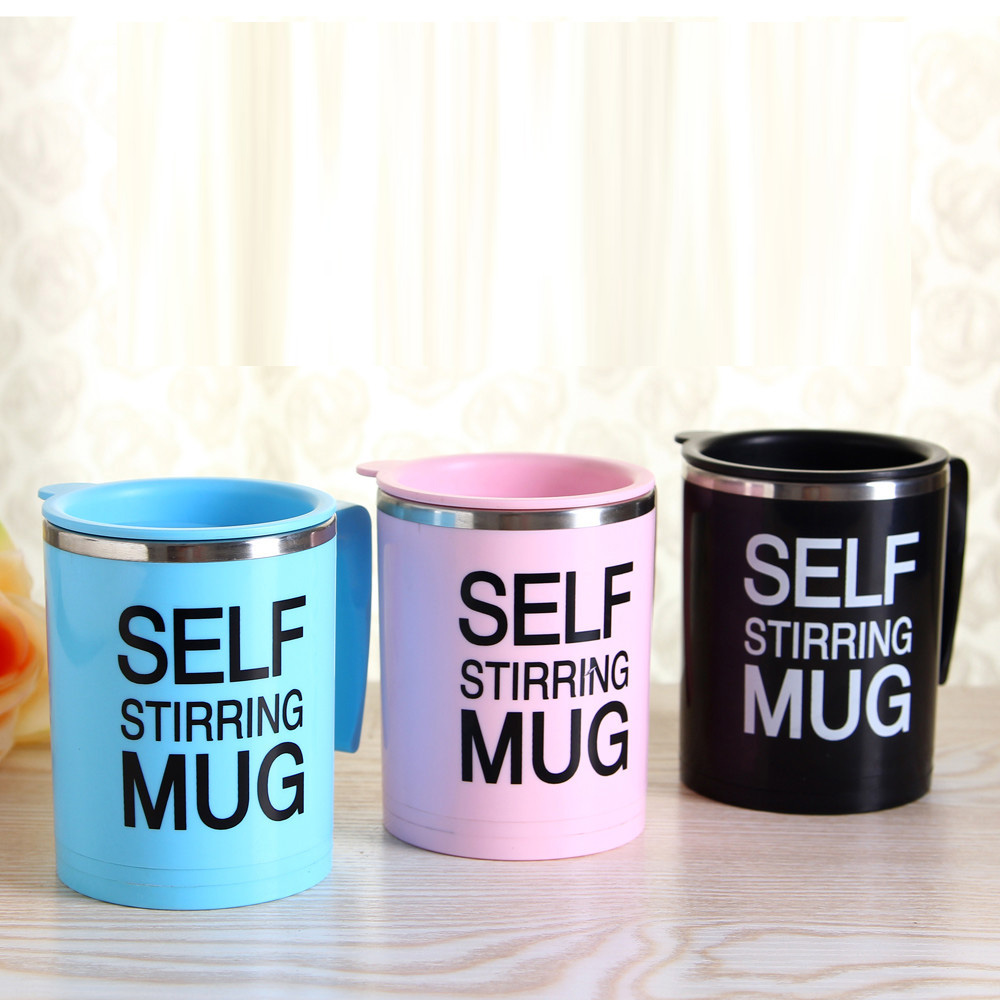 304 stainless steel inner alchemy mute electric automatic mixing cup coffee mugs lazy mug mug tea cup