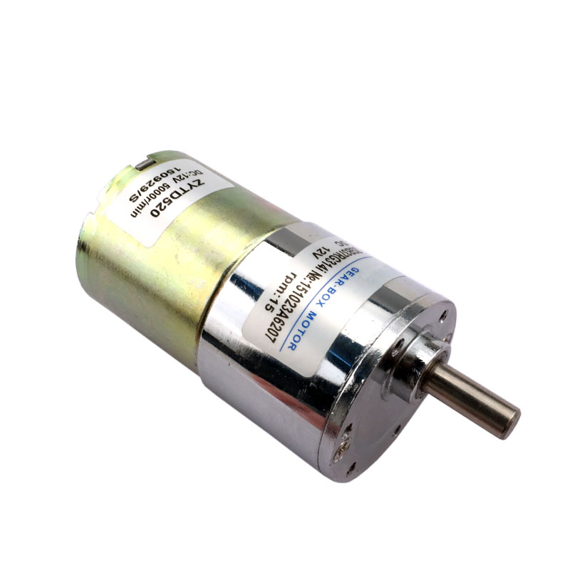 37mm dc12v 15 rpm high torque dc geared motor speed reversible motor ZGB37RG314i