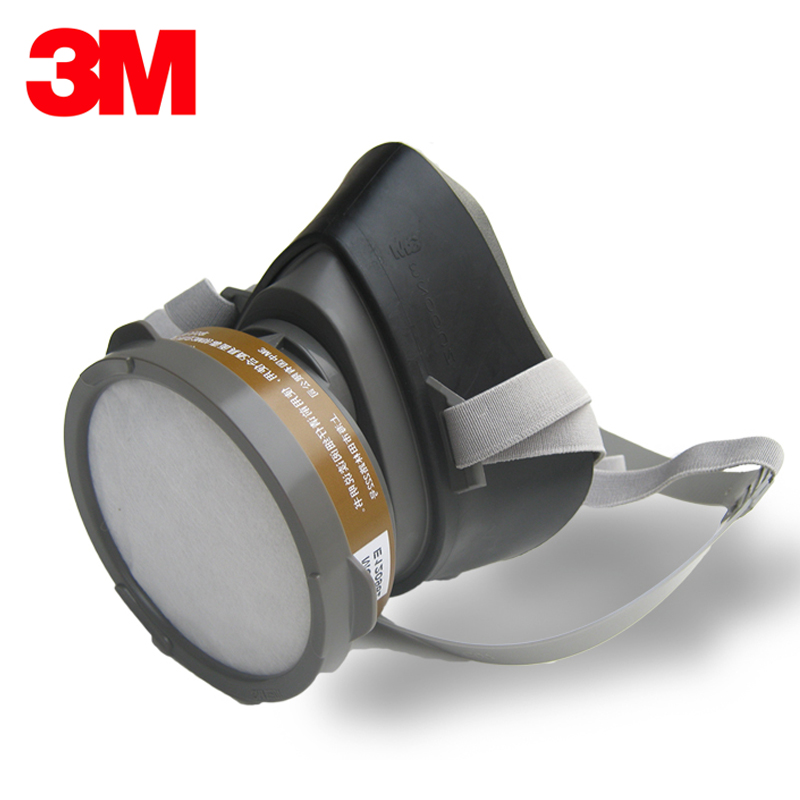 3m 3200 respirator protective paint experiment antivirus smoke dust mask industrial chemicals