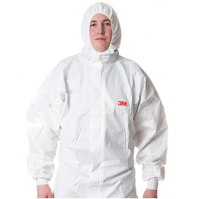 3m 4535 disposable protective clothing antistatic protective clothing overalls chemical warfare suits siamese coveralls clean clothes painting