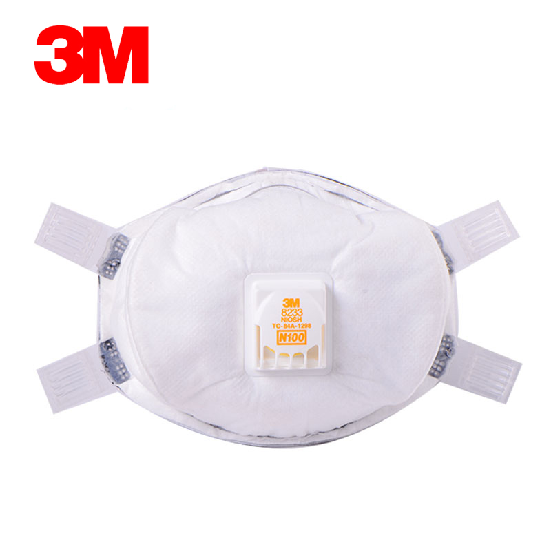 3m 8233 high efficiency particulate respirator anti fog and haze pm2.5 n100 high grade one