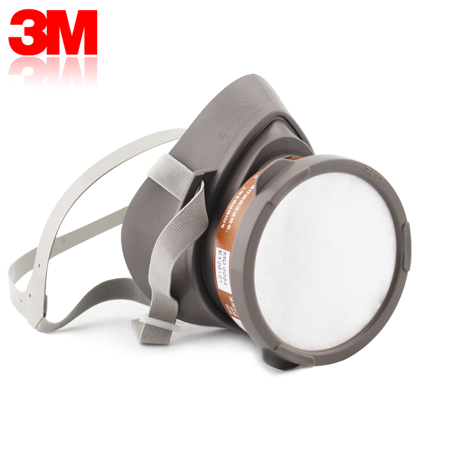 3m3200 + 3301 respirator protective paint experiment antivirus smoke dust mask industrial chemicals