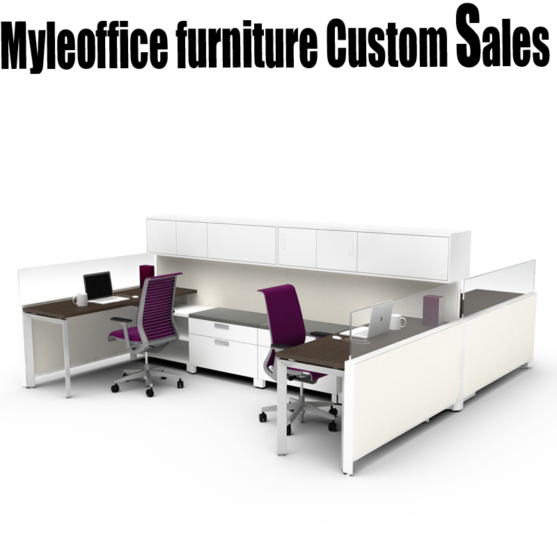 4 person staff office furniture minimalist combination of office furniture office wall desk staff position deck card bit