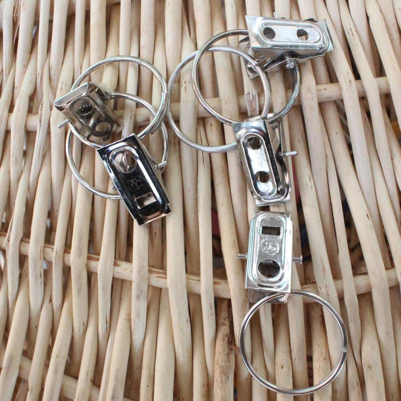 [5.8 yuan shipping] free postage small clip clip clip curtain rings curtain hook curtain rod rings hoop buckle