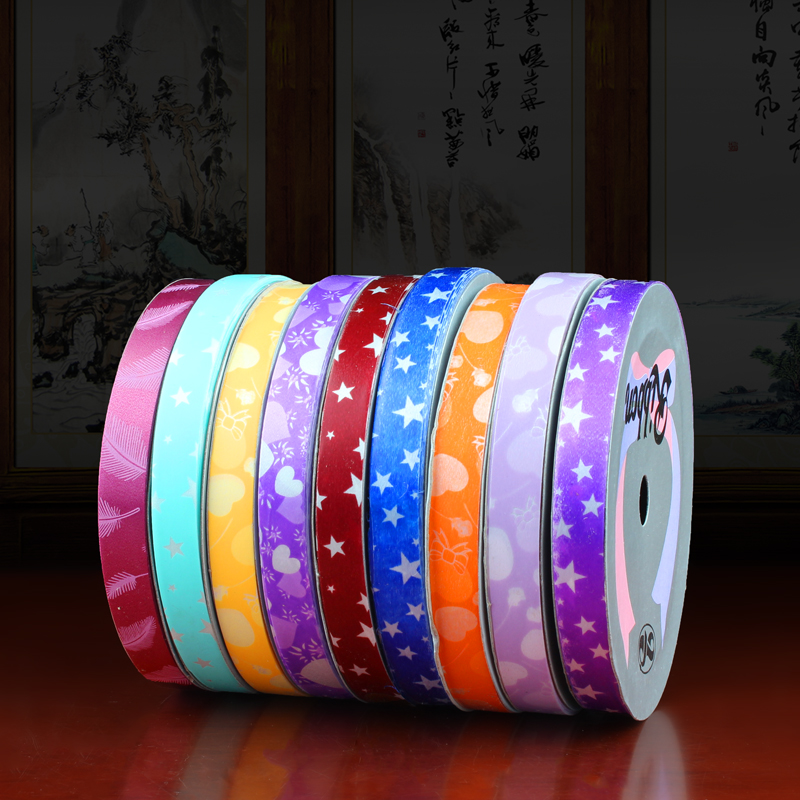 5CM cm wide color back ribbon bow ribbon ribbon ribbon ribbon roll diy wedding package sideband