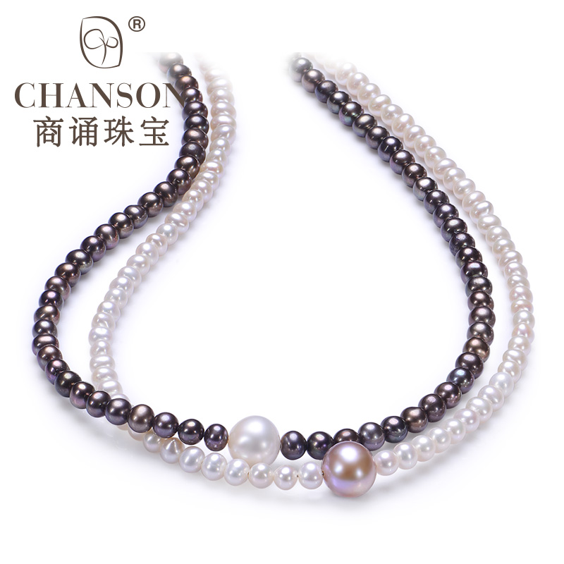 5mm small jewelry manufacturers chanting 4-20ma however subclavicular suborbicular days color freshwater pearl necklace female 925 silver clasp genuine