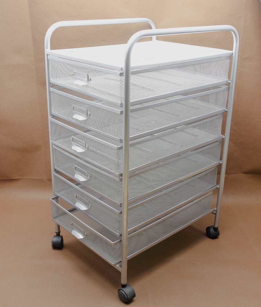 ... 6 To Pull A Cart Drawer File Cabinet Storage Cabinet Metal Mesh Pen  Creative Office Storage