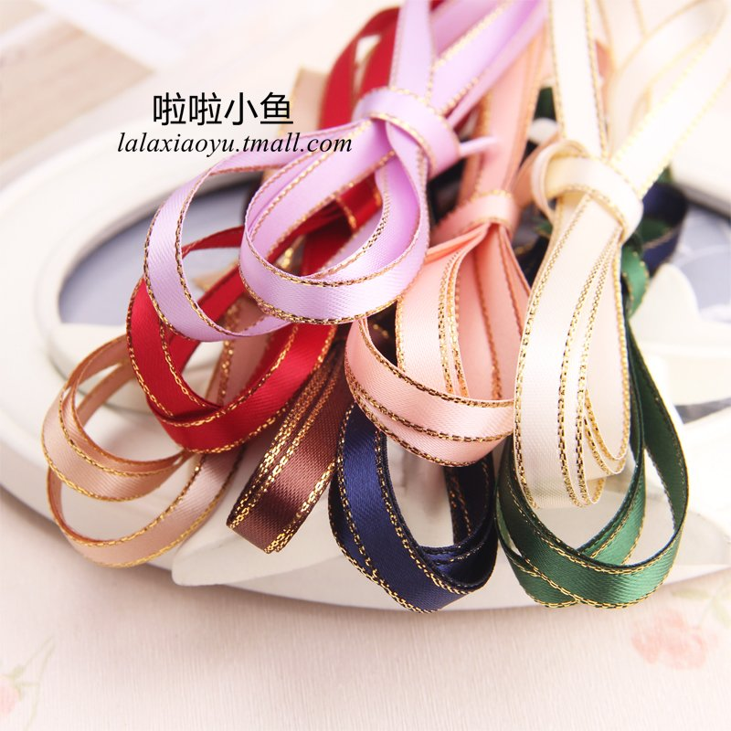 6mm phnom penh sided silk ribbon with handmade diy ribbon bow hair accessories hairpin jewelry accessories