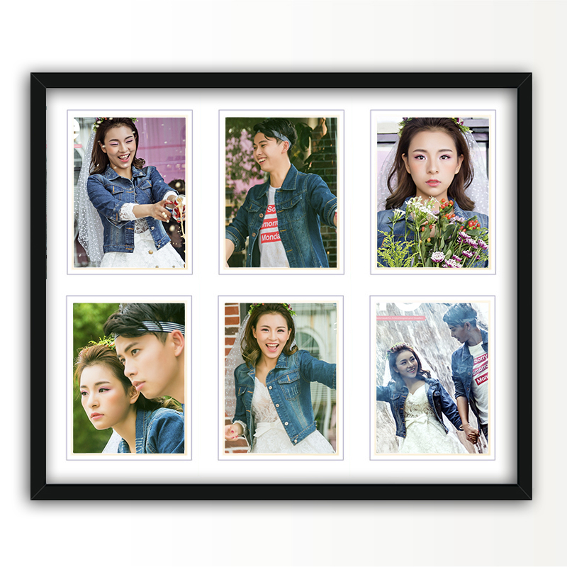 7 inch 5 inch photo frame wall photo frame creative photo frame wall stickers combination photo frame wall photo wall photo frame wholesale
